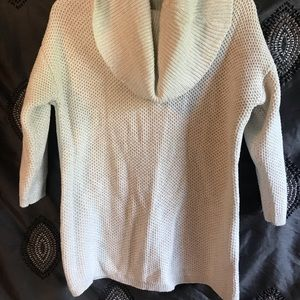 Women's Sparkly Sweater w/ Flap Back Design
